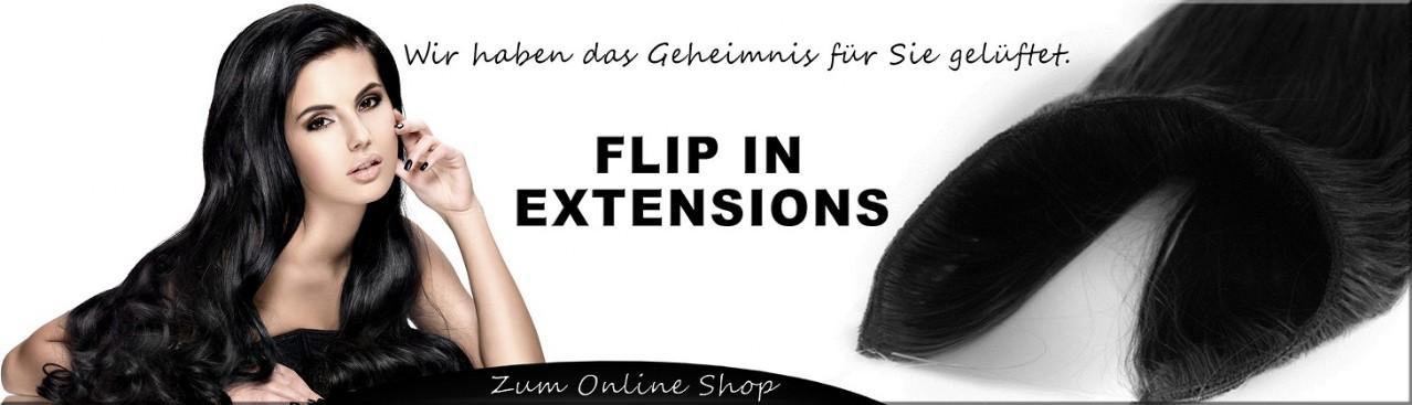 echthaar flip in extensions haarverl ngerung yhw. Black Bedroom Furniture Sets. Home Design Ideas